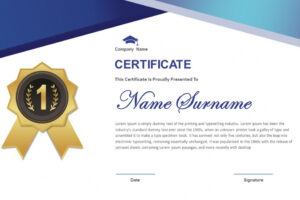 editable certificate template for powerpoint example
