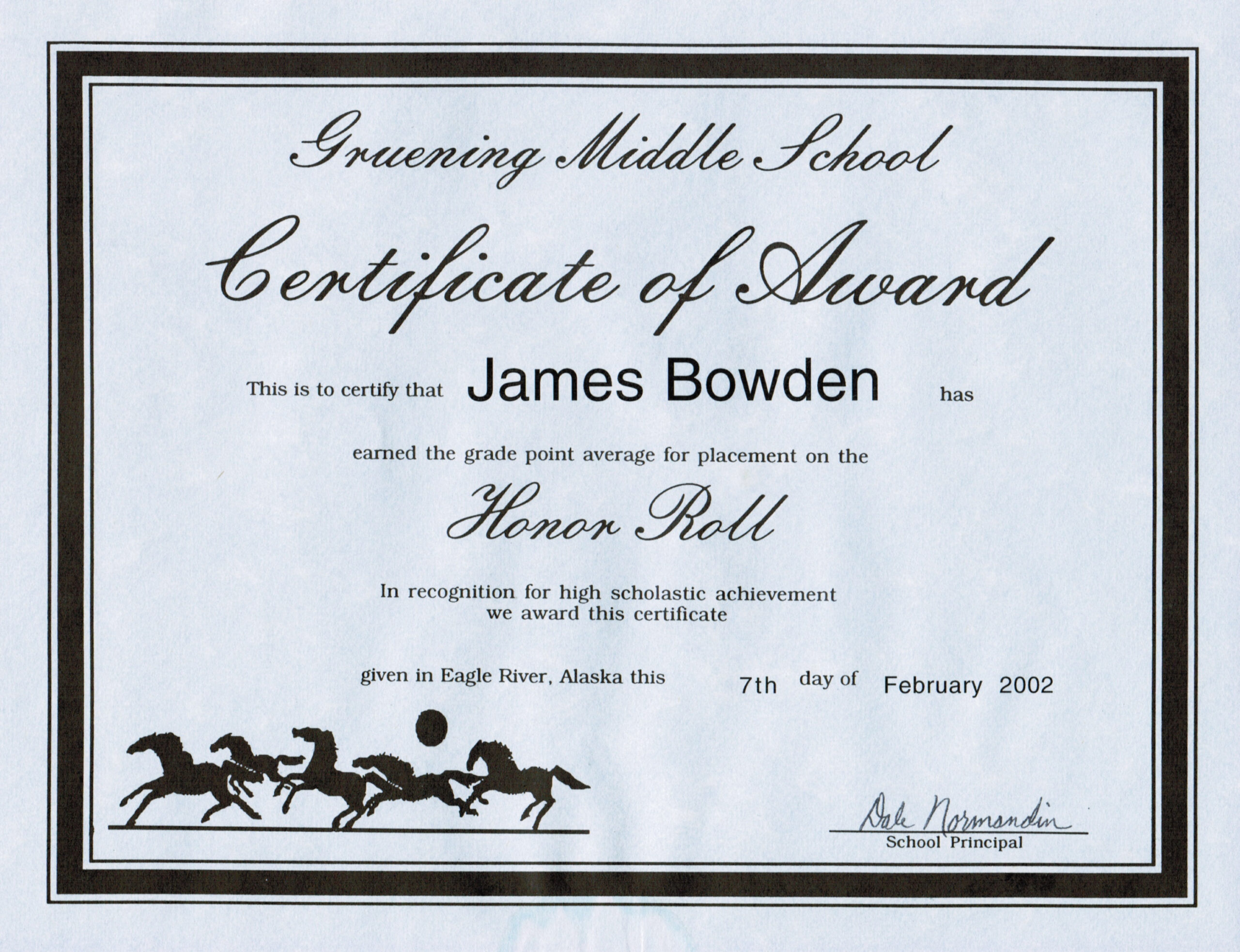 editable high school honor roll certificate template