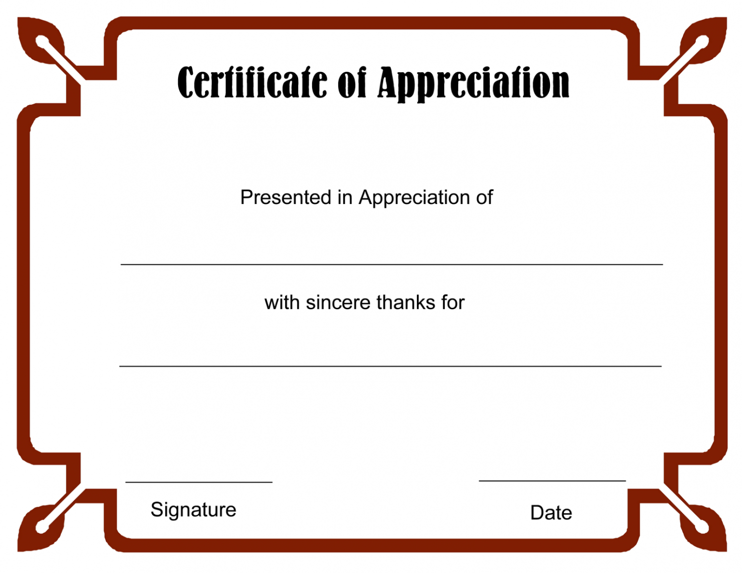 editable print a certificate template excel