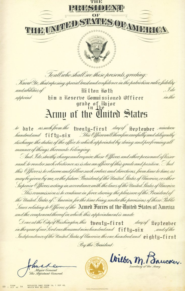 free army promotion certificate template ppt
