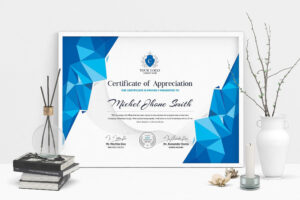 free business award certificate template word