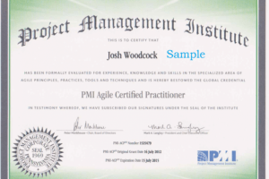free certificate course in project management word