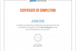free certificate course in web designing ppt