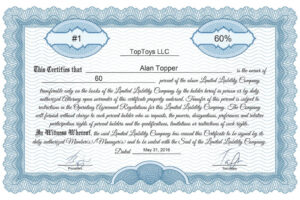 free corporation stock certificate template example