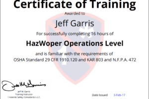 free safety training certificate template sample