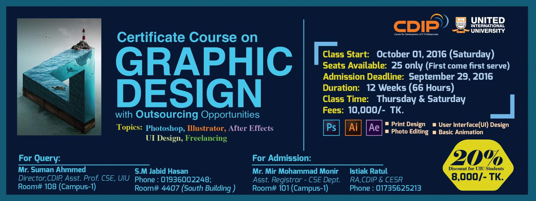 graphic design certificate course ppt