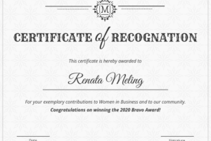 how to get a appreciation award certificate template