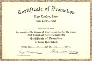 how to get a army promotion certificate template word