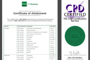 how to get a certificate course in accounting
