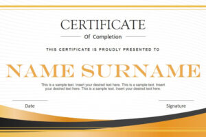 how to get a certificate template for powerpoint word