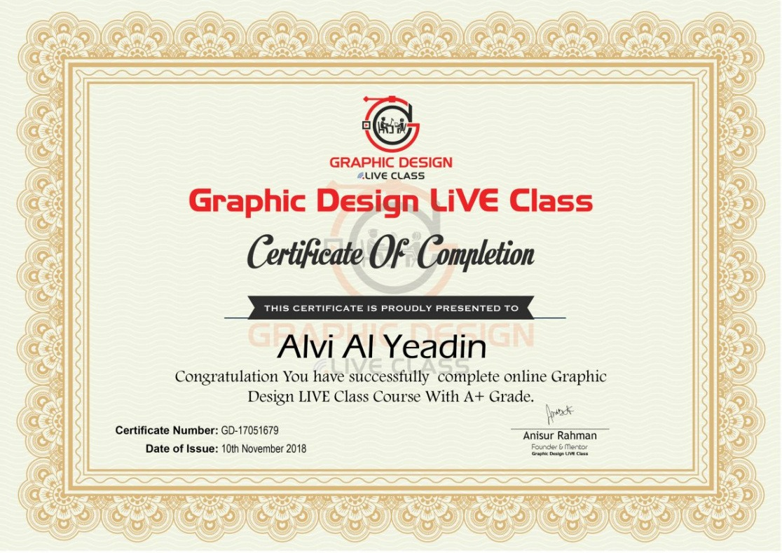 how to get a graphic design certificate course pdf