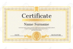 how to get a name a star certificate template word