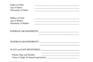 how to get a translation of birth certificate template doc