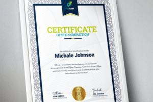 how to make a business award certificate template word