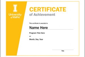 how to make a student council award certificate template sample