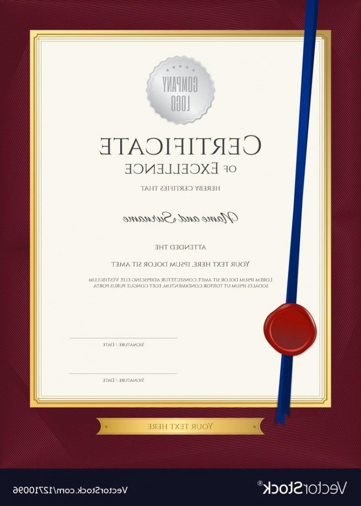 printable 10 year service certificate template ppt