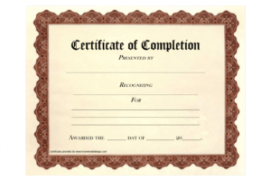 sample fire extinguisher training certificate template