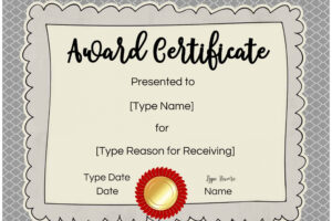 sample high school honor roll certificate template sample