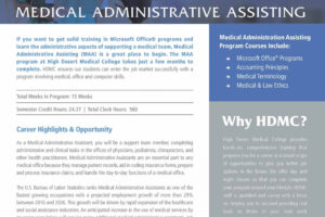 sample medical office administrative assistant certificate doc