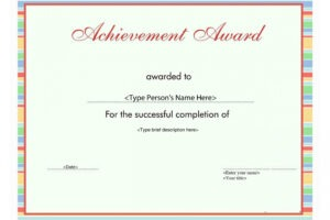 sample student of the month certificate template pdf