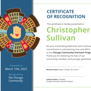 sample volunteer recognition certificate template word