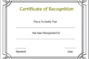 what is a appreciation award certificate template doc