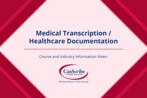 what is a certificate in medical transcription doc