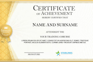 what is a certificate template for powerpoint sample