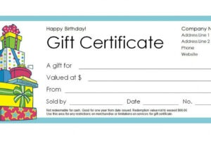what is a freegift certificate template doc