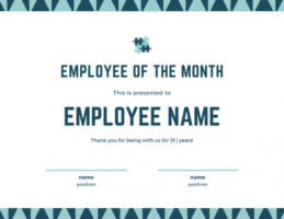 free employee of the month certificate template with picture doc