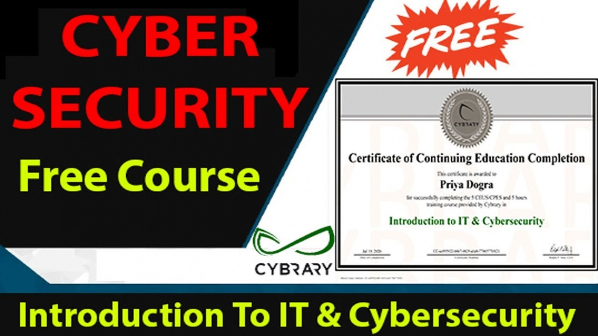 how to get a cyber security certificate course doc