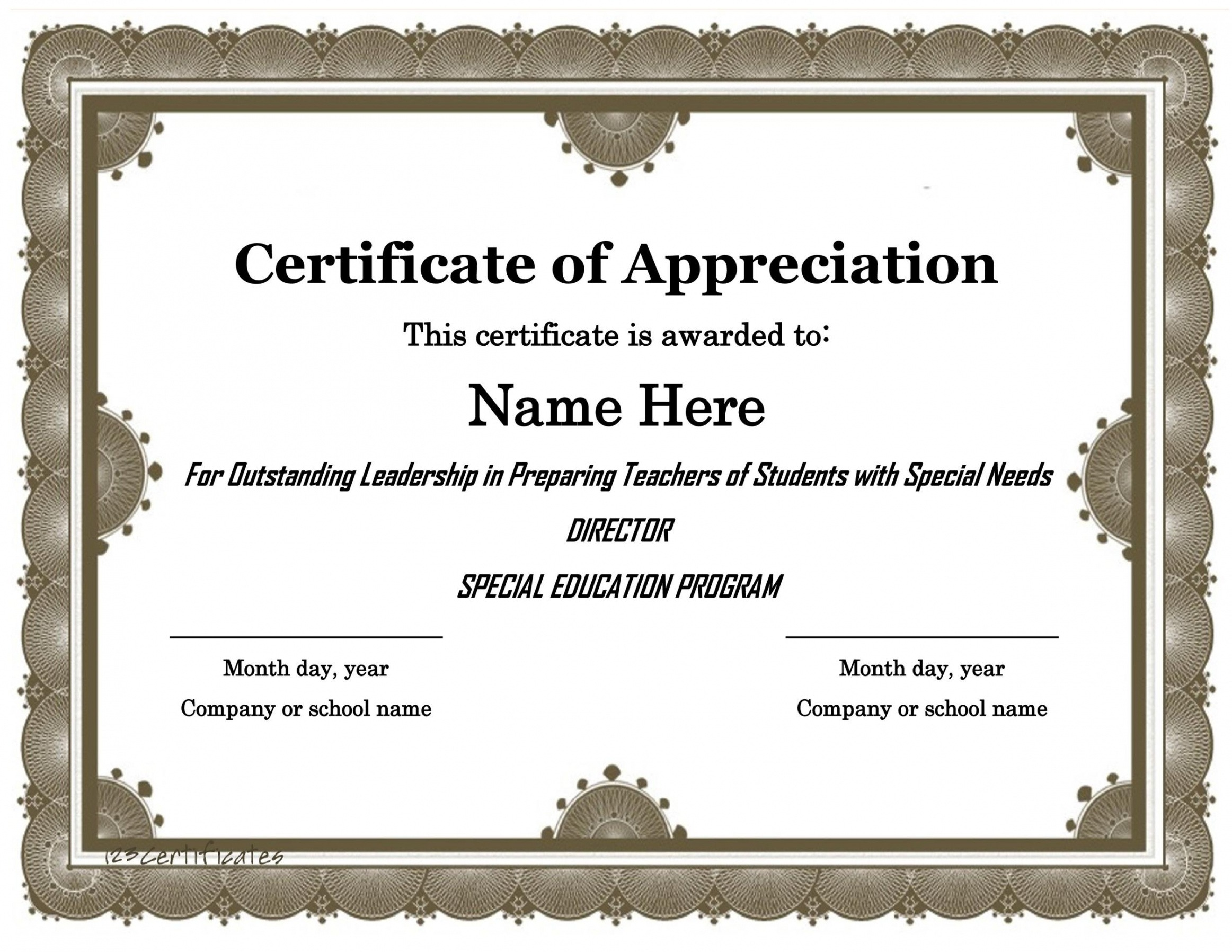 editable student government certificate template