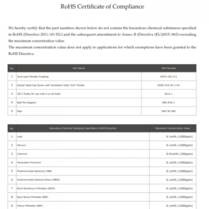 free certificate of compliance form template excel