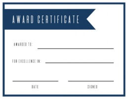how to get a customizable award certificate template ppt