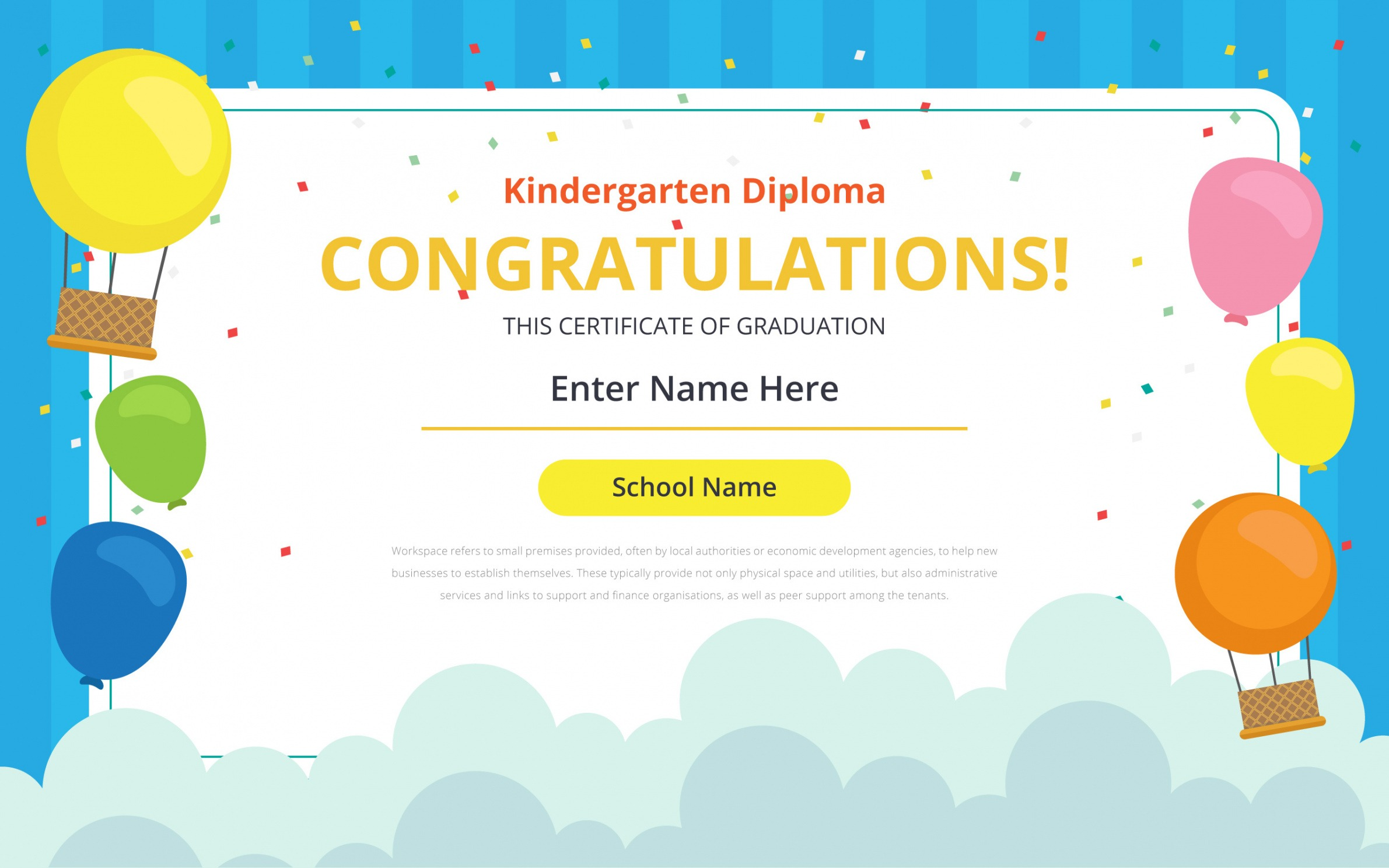 how to get a day care certificate template ppt