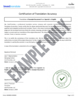 how to get a english translation of birth certificate template excel