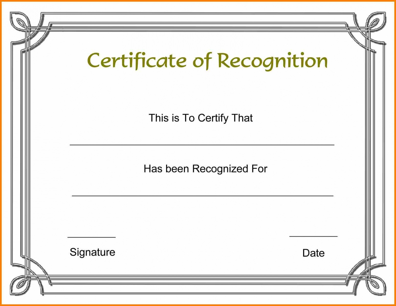 how to make a customizable award certificate template ppt