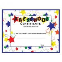 how to make a day care certificate template pdf