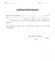 what is a student government certificate template