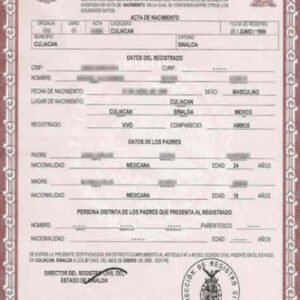free death certificate translation template english to spanish sample