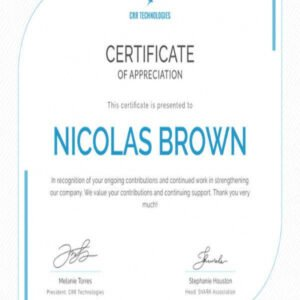 free employee recognition certificate template ppt