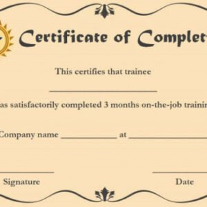how to get a anger management certificate template example