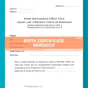 how to get a japanese birth certificate translation template excel