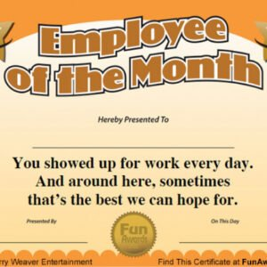 how to make a employee appreciation certificate template doc