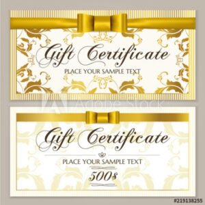 how to make a store gift certificate template sample