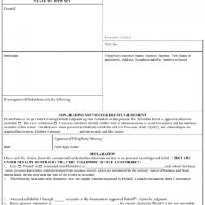 printable legal certificate of service template