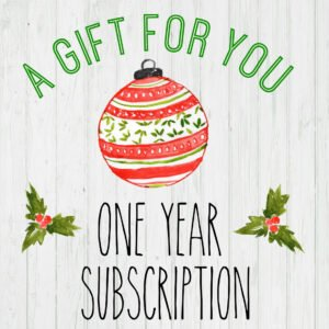 printable magazine subscription gift certificate template