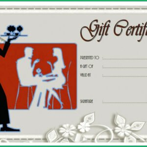 sample magazine subscription gift certificate template word
