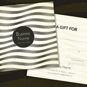 what is a restaurant gift certificate template example