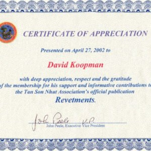 editable air force certificate of appreciation template example